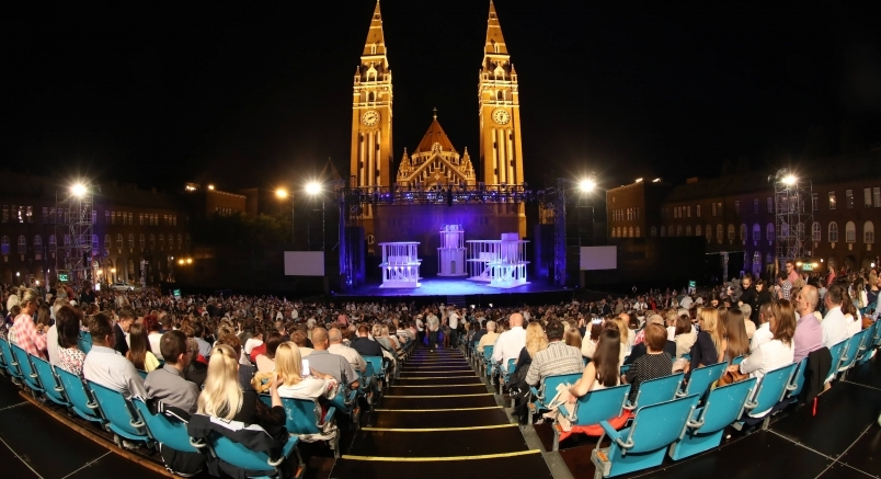 Theater unter den Sternen am Cathedral Square